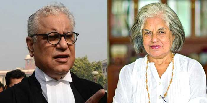 Image result for The domestic contribution to Delhi Indira Jai Singh and Anand Grover home CBI raids in Mumbai