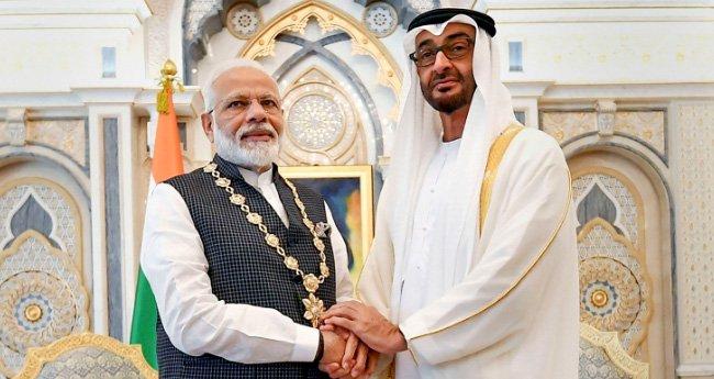 UAE honours PM Modi with its highest civilian award ...
